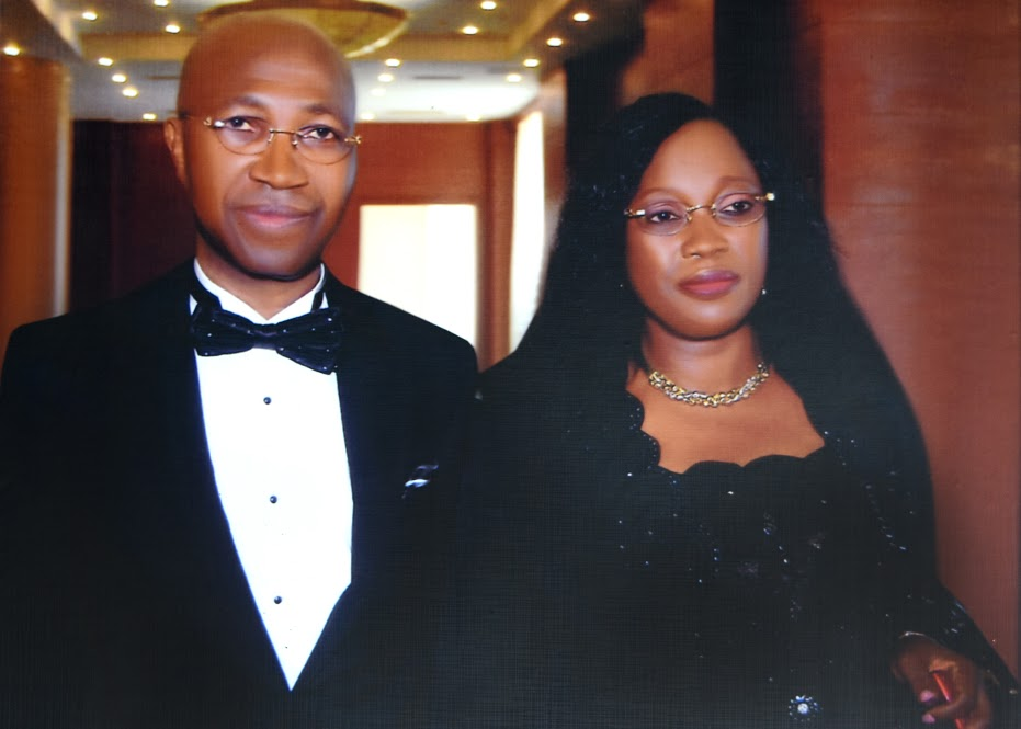"Chief Wole Olanipekun, OFR, SAN, and his wife, Princess Omolara Olanipekun, during the Public Presentation of ""The Voice of Law & Social Change: Speeches & Thoughts of Chief Wole Olanipekun, SAN, to celebrate the 20th Anniversary of the call to the Inner Bar of Chief Olanipekun, SAN, at the Oriental Hotel, Lagos, on the 22nd of July, 2011."