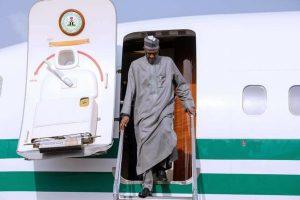 Buhari returns from Turkey
