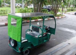 solar-powered tricycles