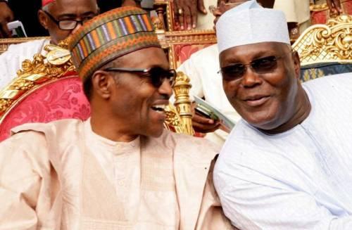 President Muhammadu Buhari and former Vice-President Atiku Abubakar