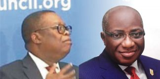 Former bosses, Ita Ekpenyong and Ayodele Oke