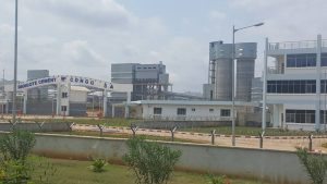 Commissioning of Dangote Cement factory in Congo