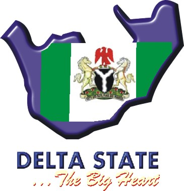 Map of Delta State