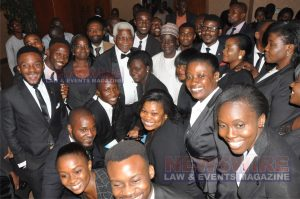 Dr. Ekwueme, during the reunion of Class of '91 of the Nigerian Law School