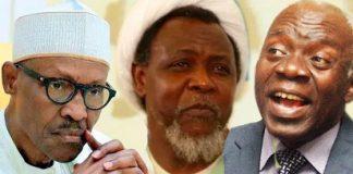 El-Zakzaky, Buhari and Falana