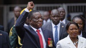 Emmerson Mnangagwa Sworn-in as Zimbabwes President