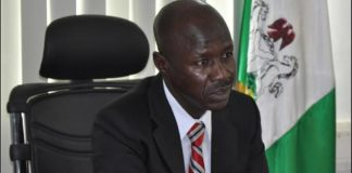 Ibrahim Magu, acting Chairman of the Economic and Financial Crimes Commission