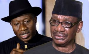 Goodluck Jonathan and Prof. Itse Sagay