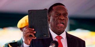 Mnangagwa Zimbabwe President-Swearing-In