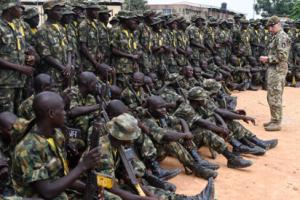 Nigerian Army recruits