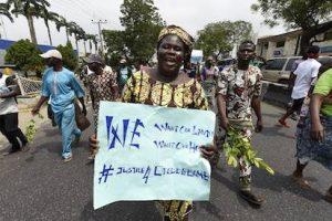 Otodo Gbame Protestor