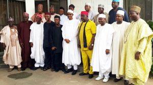 President Buhari with APC Governors