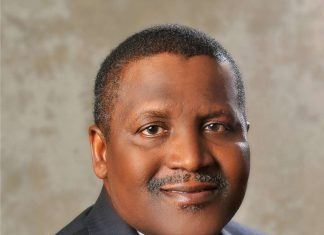 President of Dangote Group, Alhaji Aliko Dangote