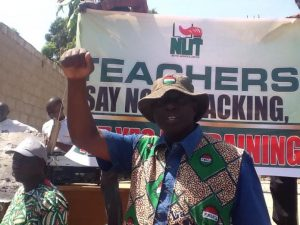 Sacked Teachers' Protest