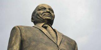 Statue of President Zuma