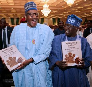 President Buhari and Sen. Bola Tinubu