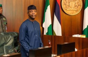 Vice President, Yemi Osinbajo, SAN