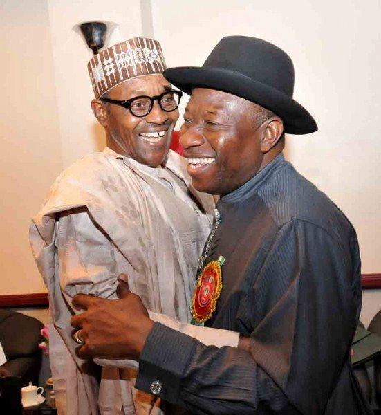 President Muhammdu Buhari and former President Goodluck Jonathan
