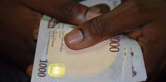 Fake Naira note