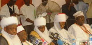 Northern Governors meets with Traditional Rulers in Kaduna State