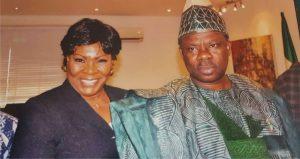 Mrs. Abimbola Akeredolu, SAN and Ogun State governor, Sen. Ibikunle Amosun