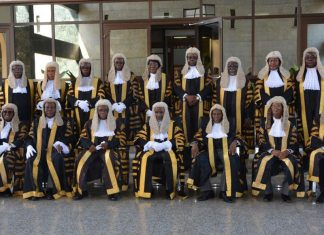 Judges of the Nigerian Supreme Court.