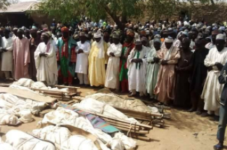 Zamfara Killings burial