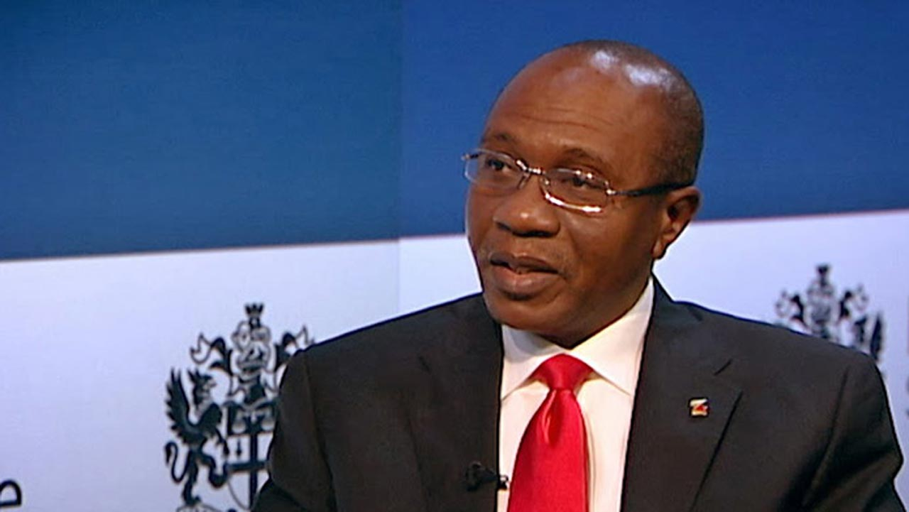 Central Bank Governor, Godwin Emefiele. Photo: Daily Post