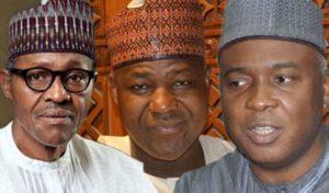 Buhari, Dogara and Saraki
