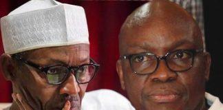 President Buhari and Ayo Fayose