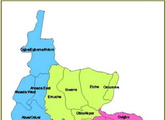 Map of Rivers State