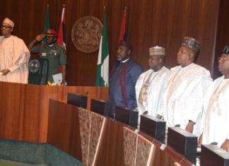 APC Govs and Buhari