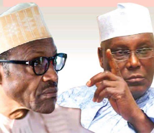 President Muhammadu Buhari and Former Vice President, Atiku Abubakar
