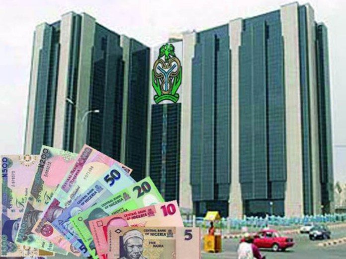 CBN-Building and displayed currencies