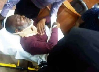 Olisa Metuh Collapsed in Court in abuja