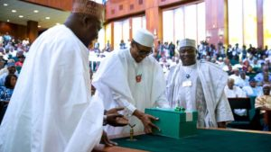 Presentation of the 2018 Budget by President Buhari