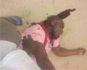Stabbed APC member
