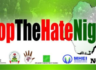 #StopTheHateNigeria