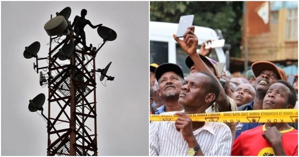 Antony Murimi Nyaga on mast