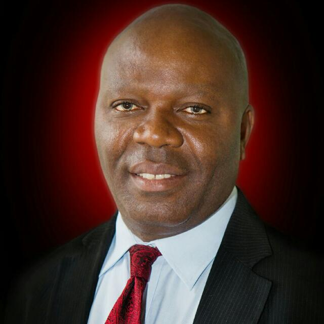 President of AfBA, Mr. Hannibal Uwaifo