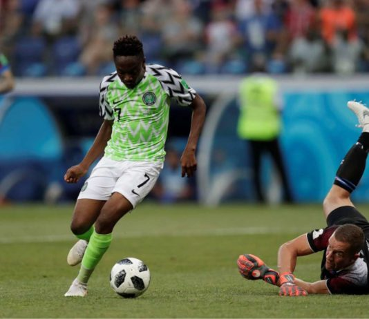 Musa scores against Iceland