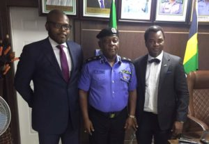 Visit to the Lagos State Police Commissioner's office