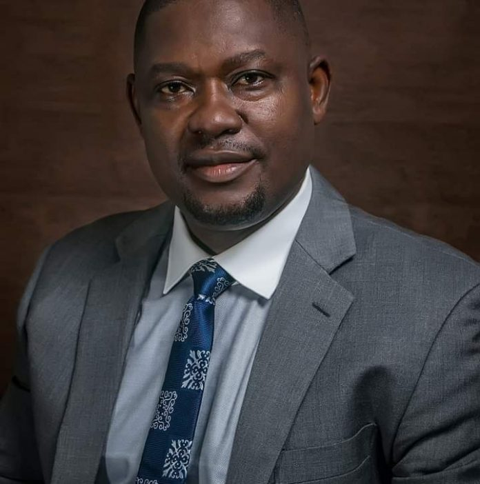 Chairman of the NBA Benin Branch - The Lion Bar ,Pius Oiwoh AICMC